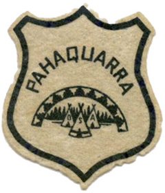 Phaquarra Early Felt Shield Patch